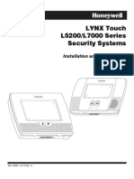 Honeywell l5200 and l7000 Installation Manual and Setup Guide