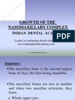 Growth of the Nasomaxillary / orthodontic courses by Indian dental academy