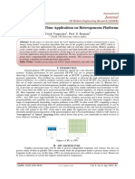 Accelerating Real Time Applications on Heterogeneous Platforms