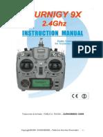Manual Tgy 9x