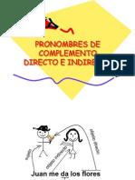 Los Pronombres Complemento