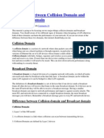 Collision & Broadcast Domain
