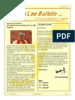 Law Bulletin- May 2014