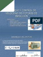 Arranque y Control de Velocidad de Motores De