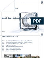 MAAG GEAR Techinal and Commercial Considerations Related to the Cement Mill Production