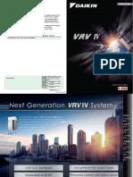 Daikin VRV IV Catalogue
