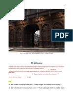 MFMS - Education