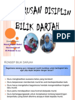 Presentation Pengurusan Disiplin Bilik Darjah