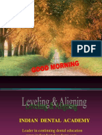 Levelling and Aligning -Dr. Lokesh / orthodontic courses by Indian dental academy
