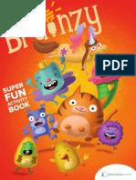 Brainzys Super Fun Activity Book Workbook