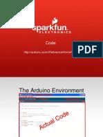 Arduino Section Programming