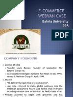 Webvan Case Summary