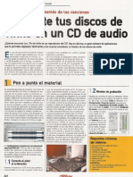 Pasar Vinilos a CD