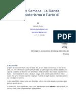 Sema, Semazen and the Art of Rumi in Italian, written by Fahredin Shehu, translated by Vajada Manjani Keci