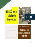 ECG en Urgencias