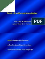 Boala de Reflux Gastroesofagian Prof. Dr. Stoica 2013
