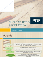 Energia Hidrogenului - Nuclear Hydrogen Production - Course 4