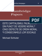 Schluter Capitalismul Cambridge Papers