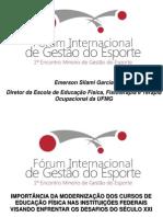 Conferencia Internacional Juiz de Fora Emerson