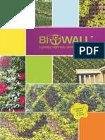 Biowall Vertical Garden System