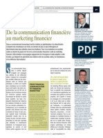 69 70 Revue Analyse Financiere