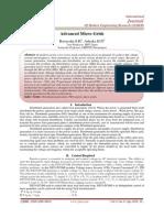 Advanced Micro-Grids