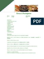 Favas à Portuguesa - The Fourth Portuguese Recipe
