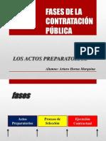 Fases de La Contratación Pública_los Actos Preparatorios_arturo Horna Marquina