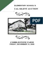 Silent Auction Program 2009 Rev 11-12-09-Web