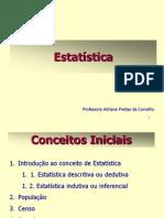 Aula 01 Probabilidade Estatistica