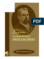 123456789-Lectures on Homoeopathic Philosophy by Jt Kent-123456789