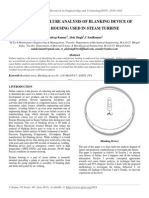 Root Cause Failure Analysis of Blanking Device of Strainer Housing Used in Steam Turbine