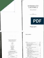 Capítulos 1, 2 e 4 da Introdução à Retórica