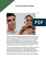 Conheça o Processo de Adoção No Brasil