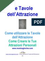 Come Utilizzare Le Tavole Attrazione - E-Book