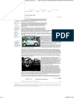 Smart Fortwo Electric Drive. Modelo 2012. Turismo Pequeño, Eléctrico, Autonomía. Km77.Com