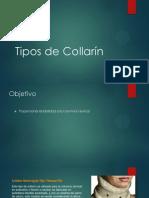 Tipos de Collarin