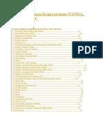 Daftar Diagnosa Keperawatan NANDA