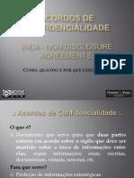 Acordos de Confidencialidade