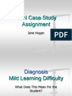 mild learning difficulty case study block 2