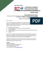 Program Need Analysis Questionnaire for DUB Program
