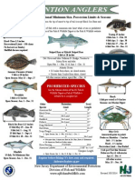 New Jersey Recreational Marine Fishing Regulations 2014