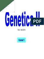 Genetica II C1
