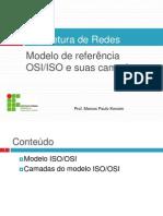 Aula IFF - Arquitetura de Redes - Modelos.pptx