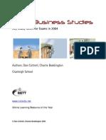 Revision Business GCSE Instant