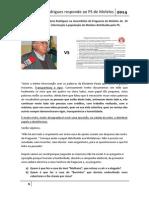 Hóracio Rodrigues Responde Ao PS de Molelos