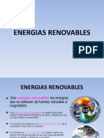 CLASE N° 1 ENERGIAS RENOVABLES