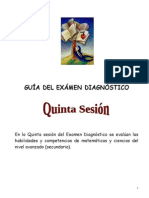 5ta. SESION DIAGNOSTICA
