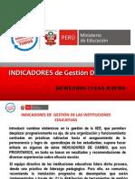 Indicadores de Gestión de Las Instituciones Educativas Ccesa2