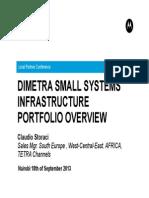 2 Dimetra Small Systems Infrastructure Portfolio Overview-Claudio Storaci
